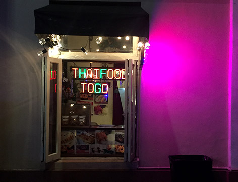 Thaifood to go in Hollywood