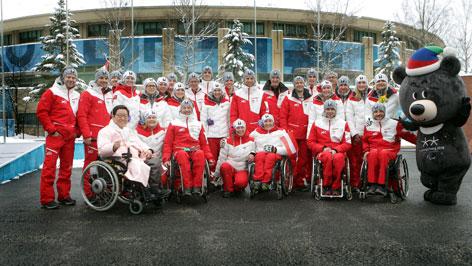 Das Team aus Österreich