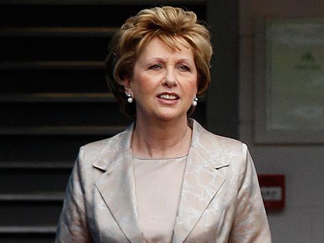 Die frühere irische Präsidentin Mary McAleese