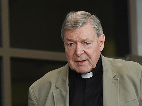 Kardinal George Pell am ersten Tag der Fortsetzung der Anhörungen im Missbrauchsskandal