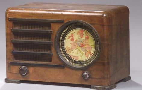 Ein historischer Radioapparat