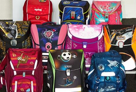 Die getesteten Schultaschen