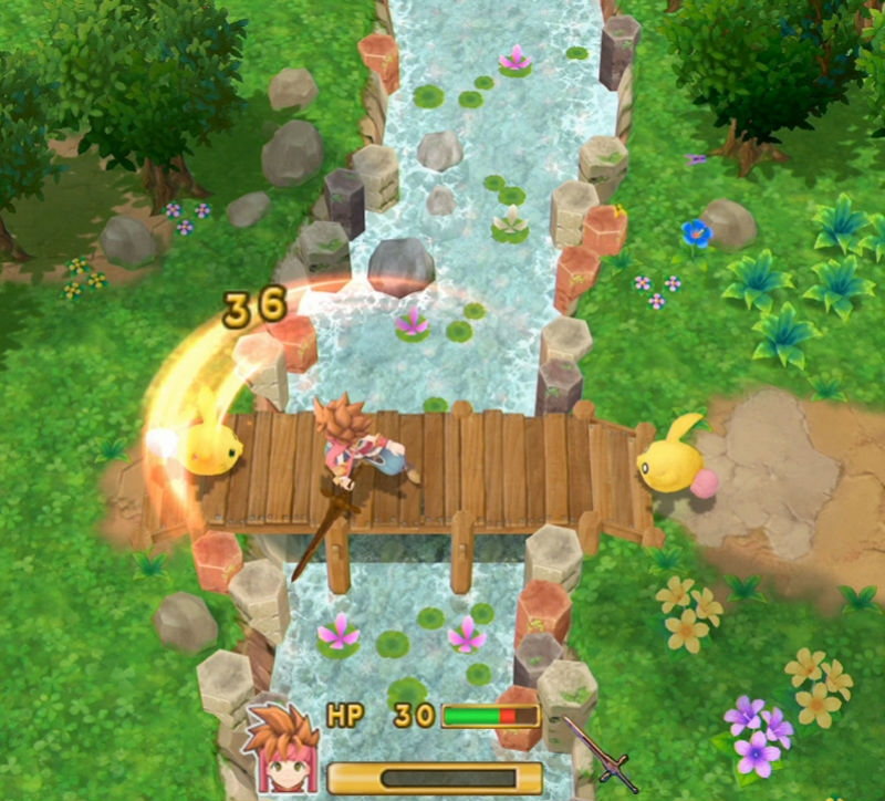 Spielescreenshot des Games Secret of Mana