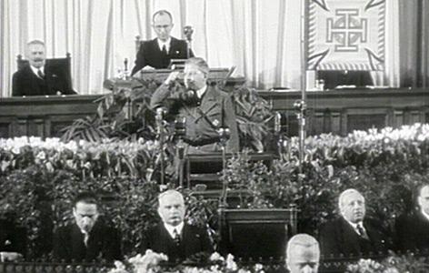 Arthur Seyß-Inquart wird zum Bundeskanzler ernannt