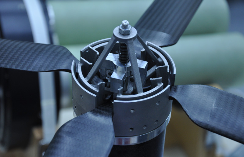 Rotoren des Messgeräts