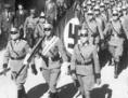 Einmarsch der deutschen Truppen in Imst in Tirol am 12. März 1938