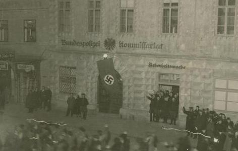 Wels am 11.3.1938