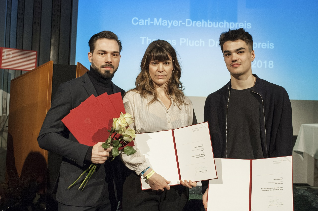 Verleihung Drehbuchpreise Diagonale
