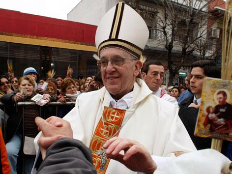 Jorge Mario Bergoglio als Erzbischof von Buenos Aires 2009