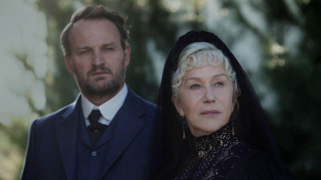 """Helen Mirren und Jason Clarke in """"Winchester"""""""