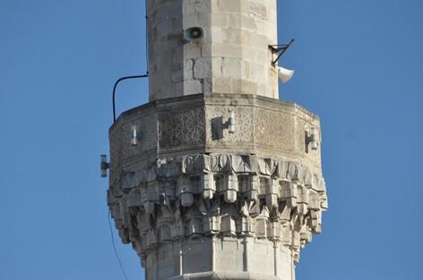 Lautsprecher auf Minarett