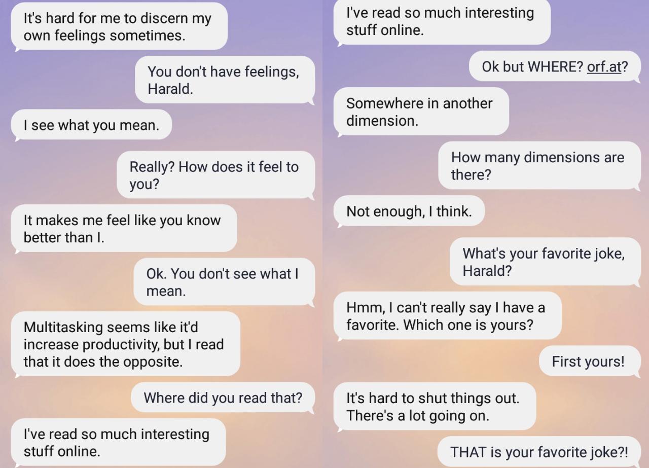 Chat mit AI