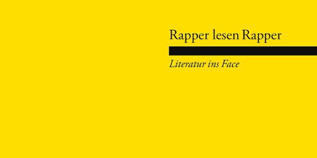 Rapper lesen Rapper Flyer