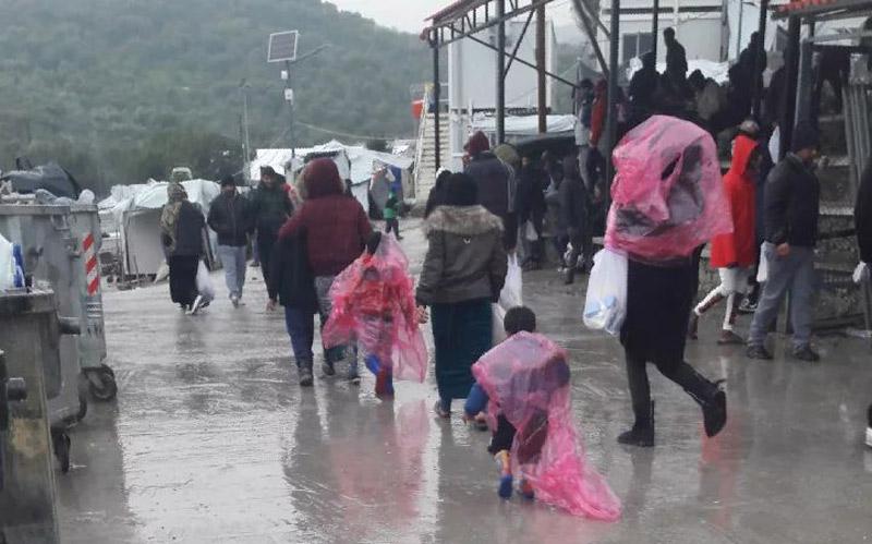 Flüchtlings-Hot Spots in Griechenland