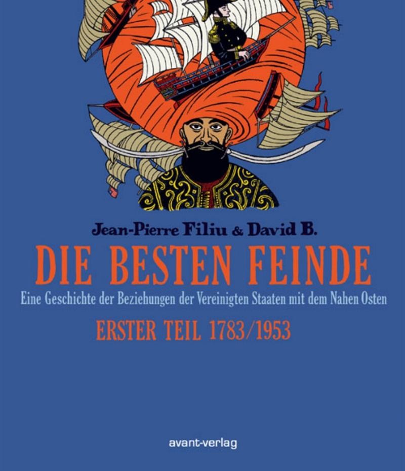 Cover vom Graphic Novel Die besten Feinde