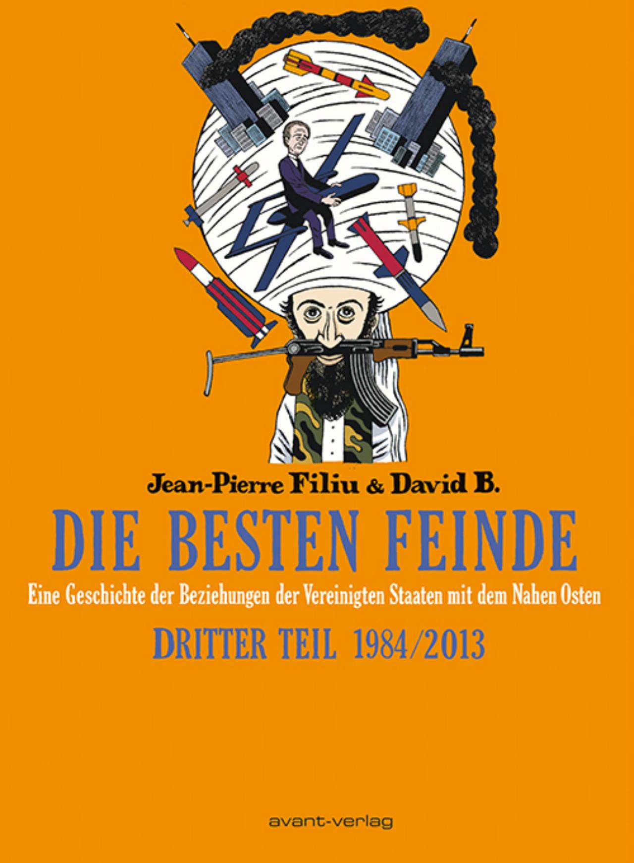 """Cover vom dritten Teil des Graphic Novels """"Die besten Feinde"""""""