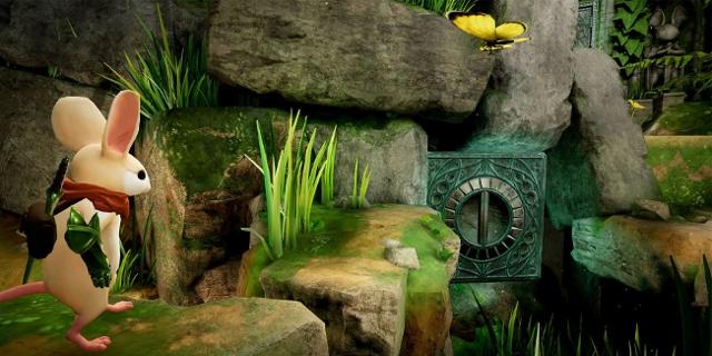 Spielescreenshot des PSVR Spiels Moss