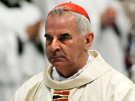 Keith O'Brien, ehemaliger katholischer Erzbischof von Edinburgh in Schottland