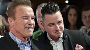 Arnold Schwarzenegger und Andreas Gabalier in Kitzbühel