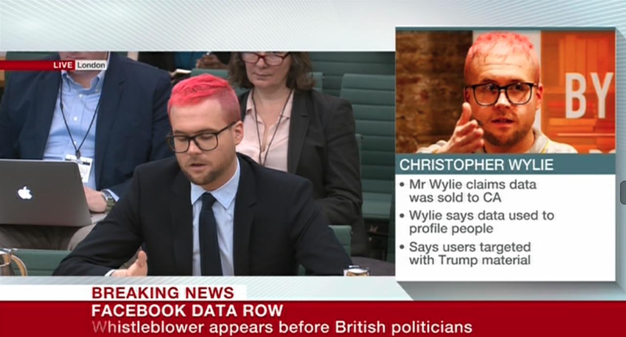 Whistleblower Chris Wylie