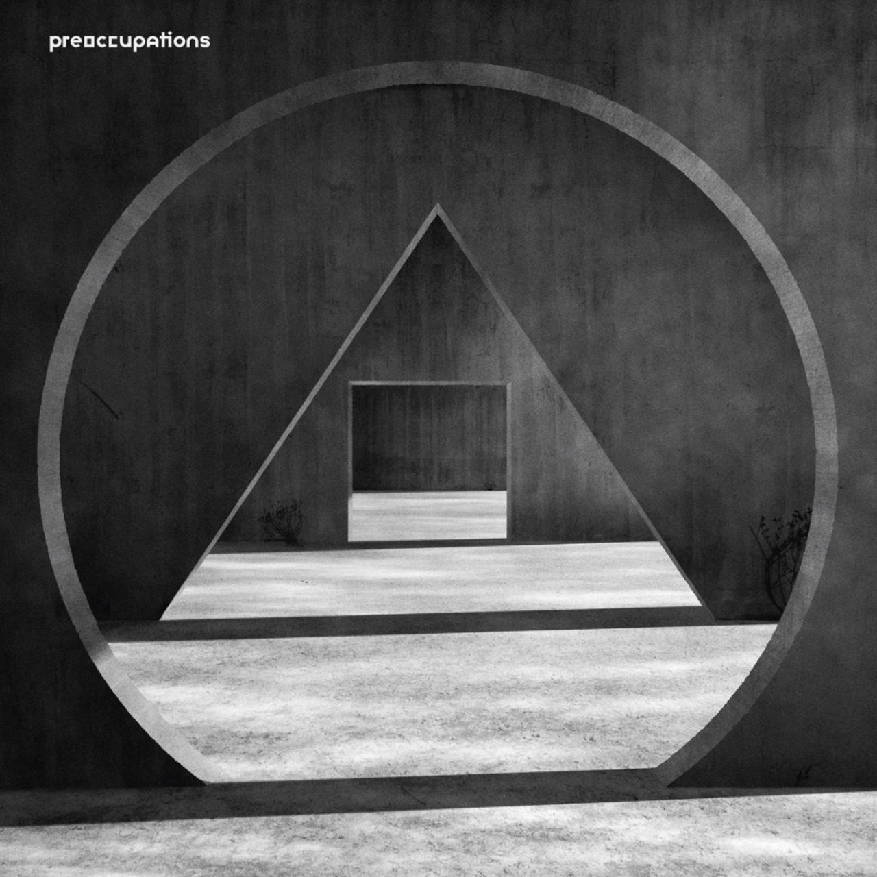 """Preoccupations Cover """"New Material"""""""