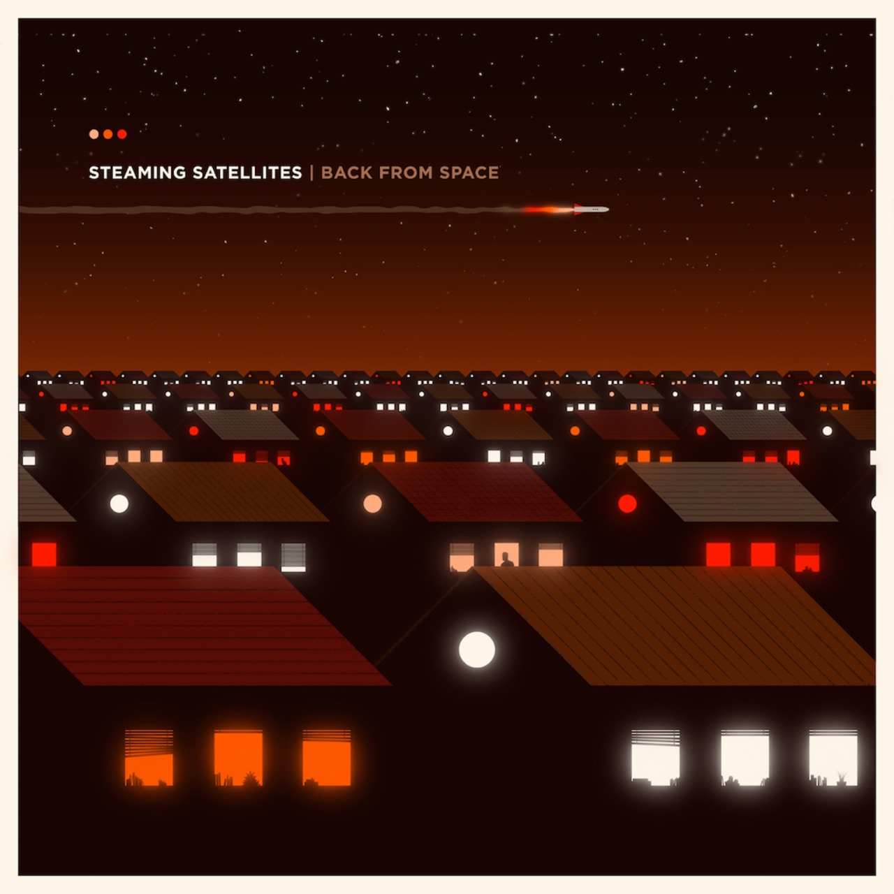 "Steaming Satellites Cover ""Back From Space"""