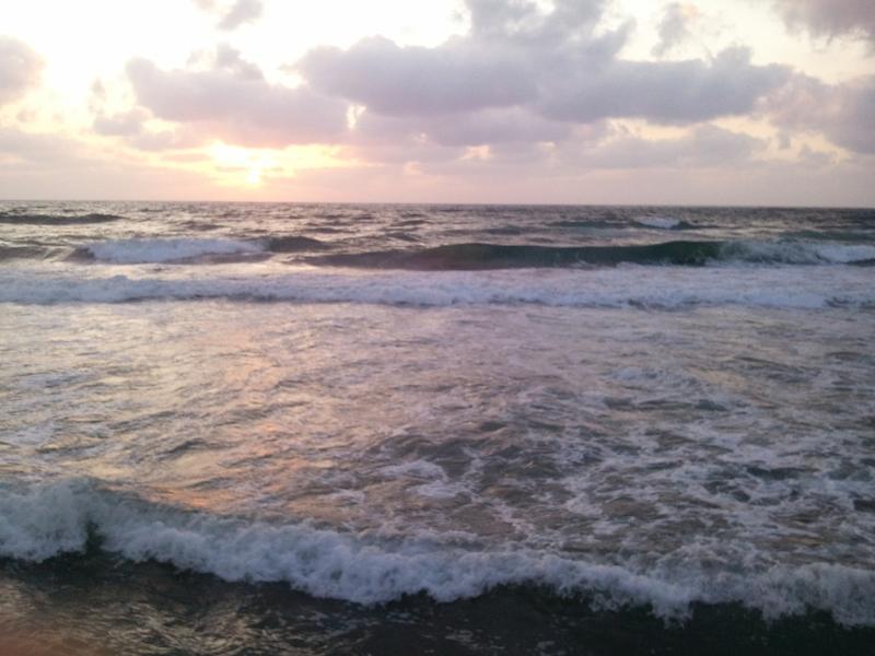 Meer vor Tel Aviv