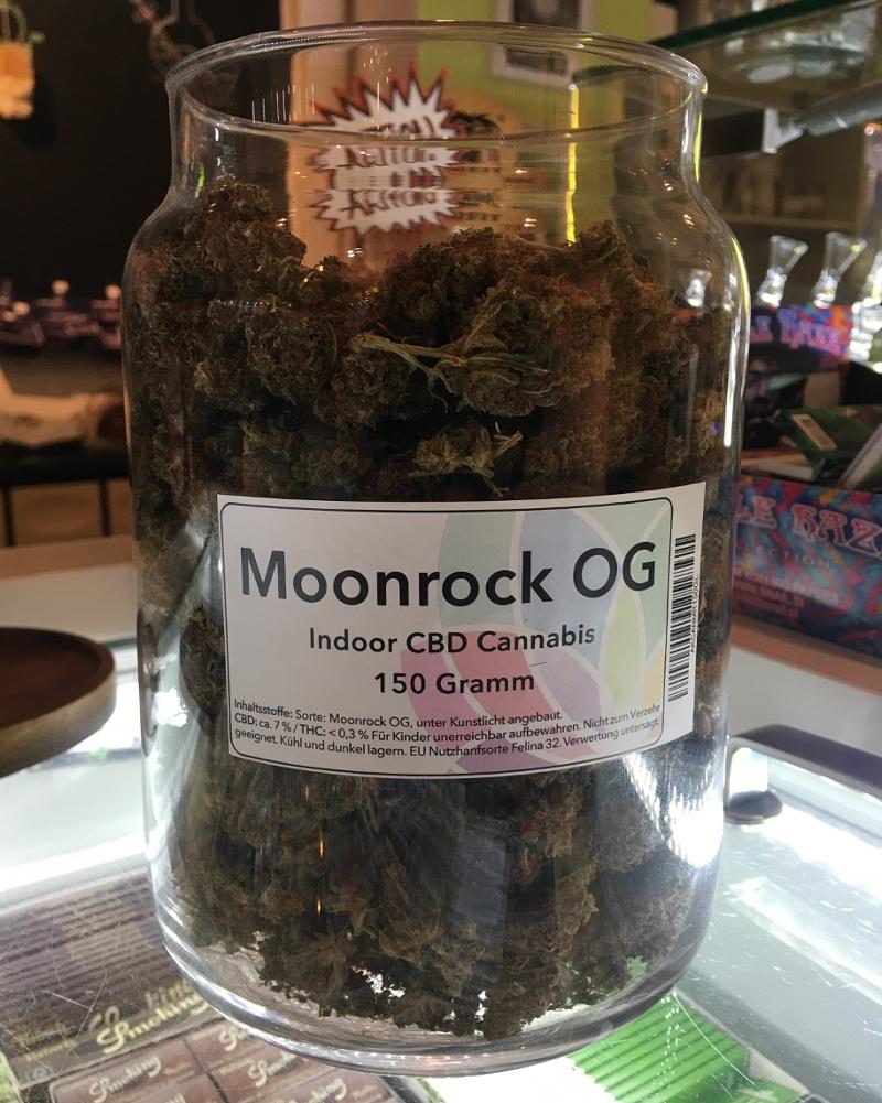 Moonrock-Weed-Glas