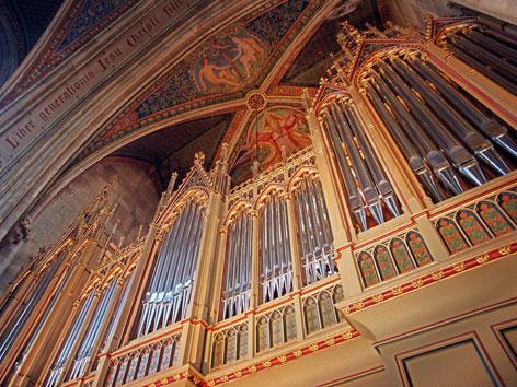 Eine Orgel