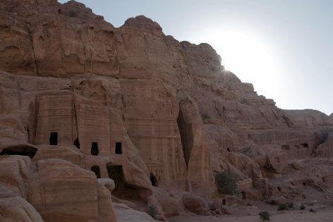 Petra Stadt Im Fels