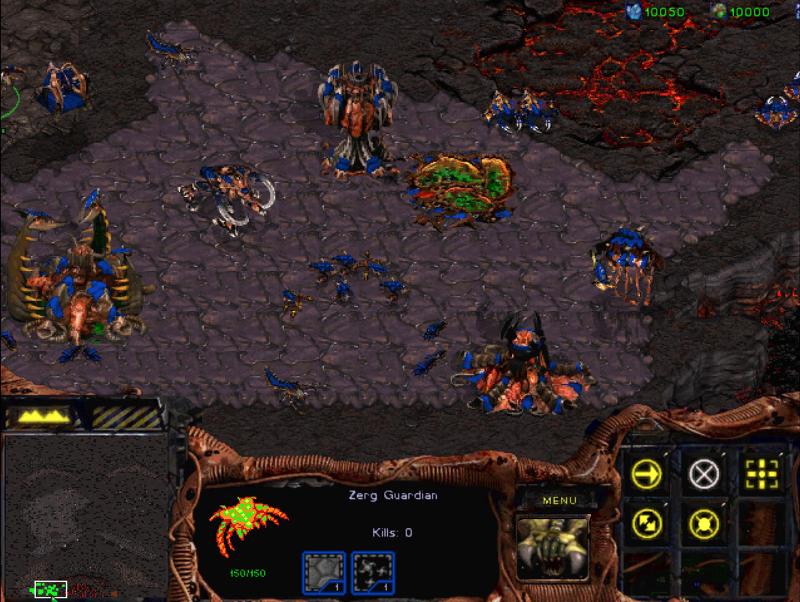 "Screenshot aus ""Starcraft"""