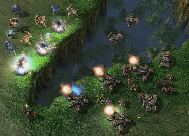 "Screenshot aus ""Starcraft 2"""