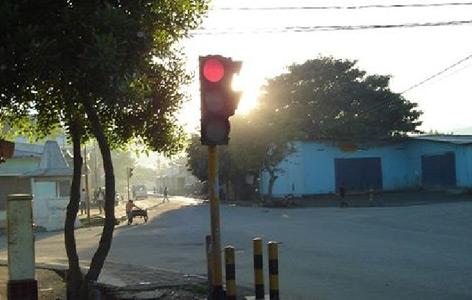 East Timor's erste Ampel