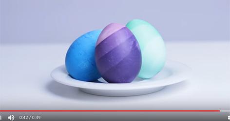 Ombre Eier