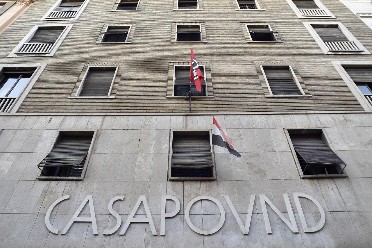 Hauptsitz CasaPound