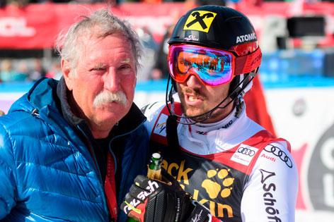 Marcel Hirscher mit Papa Ferdinand