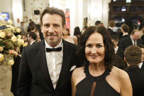 Eva Glawischnig mit Ehemann Volker Piesczek