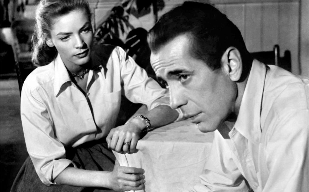 """Humphrey Bogart und Lauren Bacall in """"Ley Largo"""""""