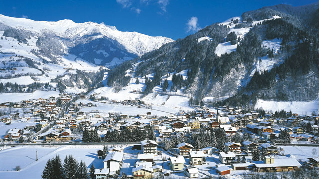 Dorfgastein im Winter