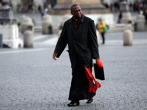 Nigerianischer Kardinal John Olorunfemi Onaiyekan, Erzbischof von Abuja