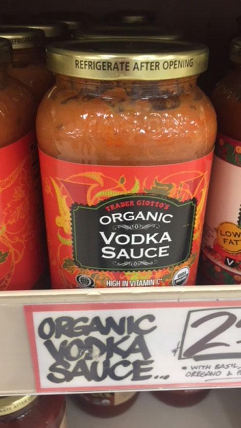 Vodka Sauce für Pasta