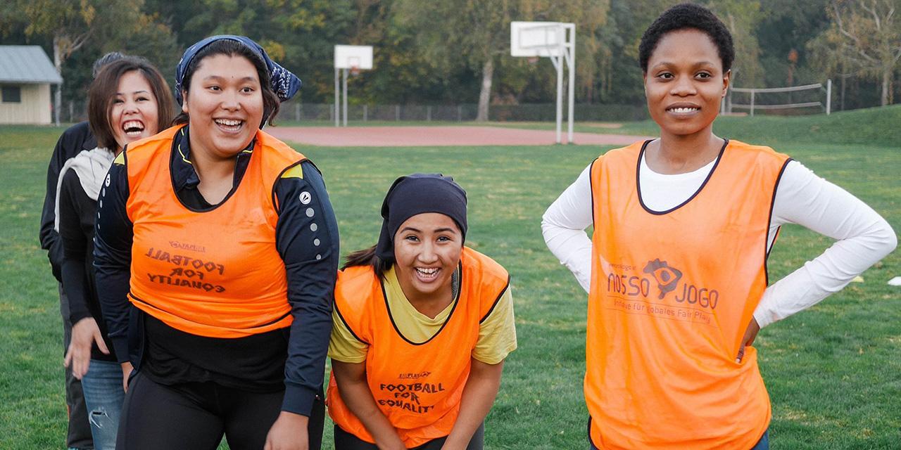 Fussballspielerinnen