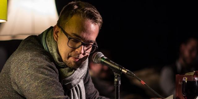 Rapper lesen auf der Urania-Bühne aus Texten von Rappern