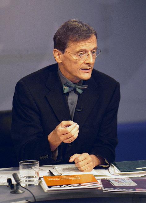 Baumeister der Republik  Wolfgang Schüssel Originaltitel: Konfrontationen zur Nationalratswahl 99