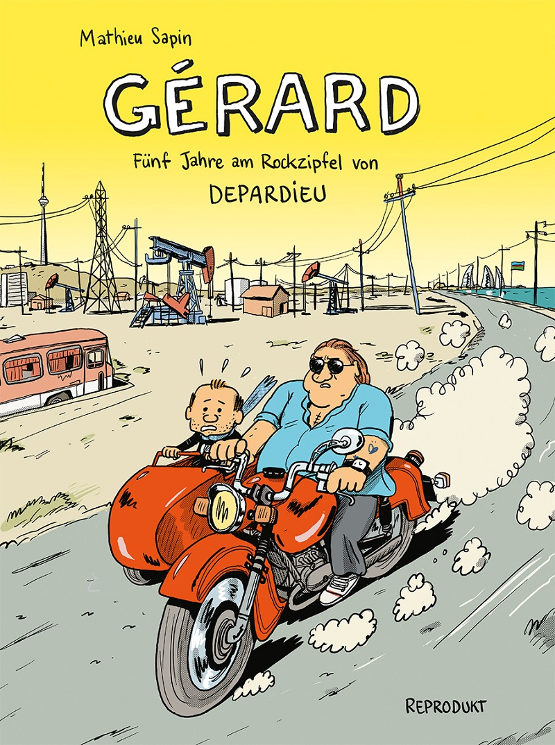 Comic Gérard Cover
