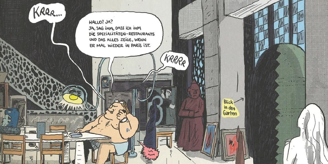 Ausschnit Comic Gérard