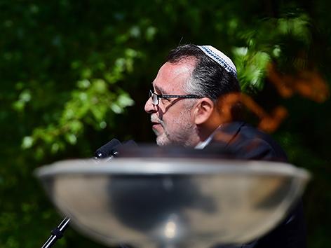 Andras Heisler, Vorsitzender der jüdischen Gemeinde in Ungarn