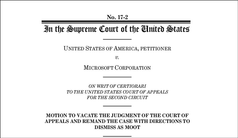 Screenshot aus US-Höchstgerichtsurteil