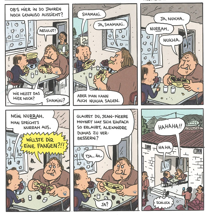 Ausschnitt Comic Gérard