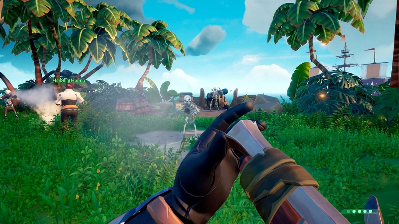 Screenshot des Spieles Sea of Thieves